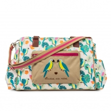 Pink Lining Twice As Nice Twin Bag Bundle-Parrot Cream