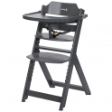 Safety 1st Timba Wooden Highchair-Warm Grey