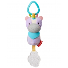 Skip Hop Chime & Teethe Toy-Unicorn