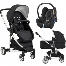 My Child Floe Pramette 3in1 Cabriofix Travel System-Star