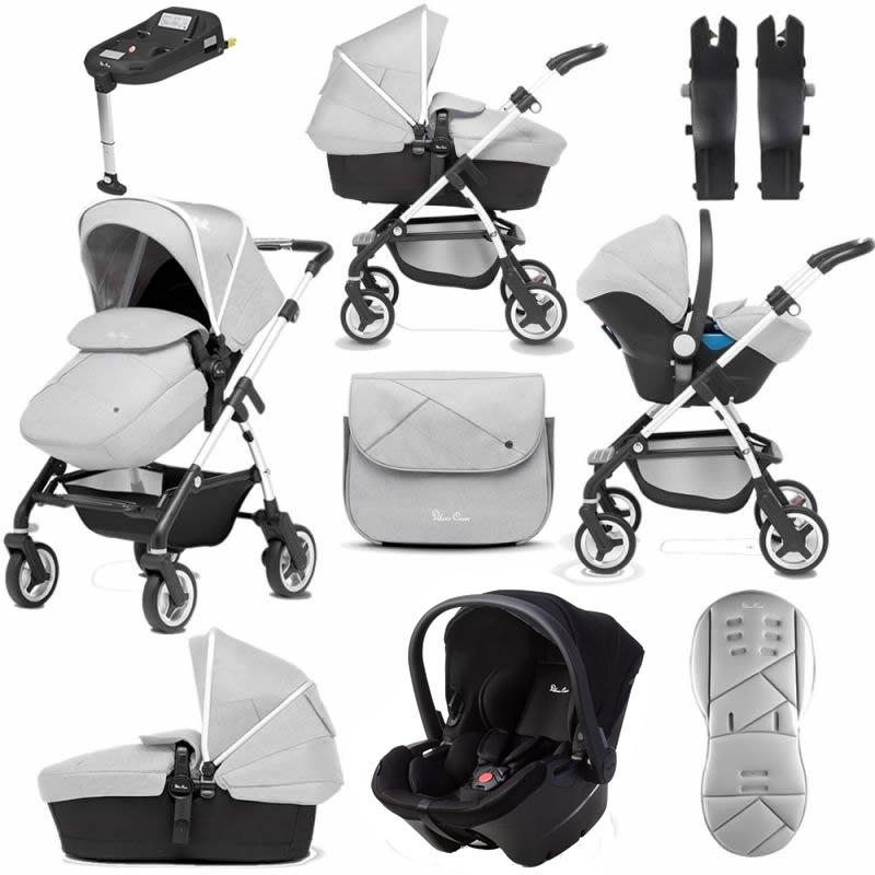 Silver Cross Wayfarer 11 Piece Bundle-Platinum (Exclusive to Kiddies Kingdom)