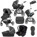 Silver Cross Pioneer 11 Piece Bundle-Onyx (Exclusive to Kiddies Kingdom)