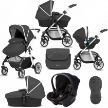 Silver Cross Pioneer 10 Piece Bundle-Onyx (Exclusive to Kiddies Kingdom)