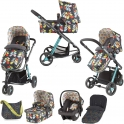 Cosatto Giggle 2 Travel System & Accessories Bundle-Nordik
