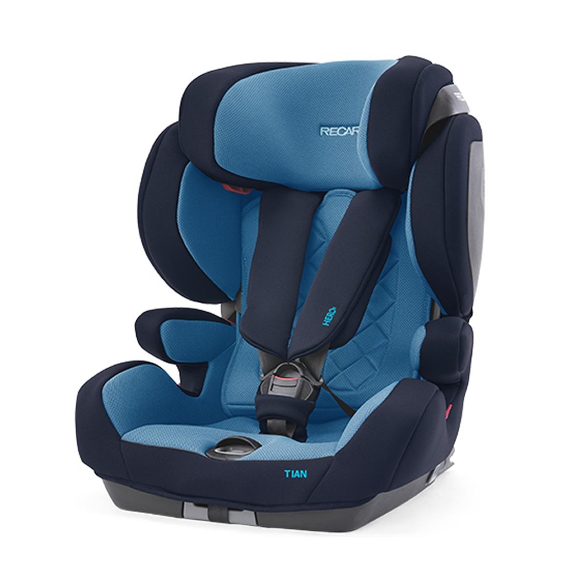 Recaro Tian Core Group 1 Car Seat-Xenon Blue