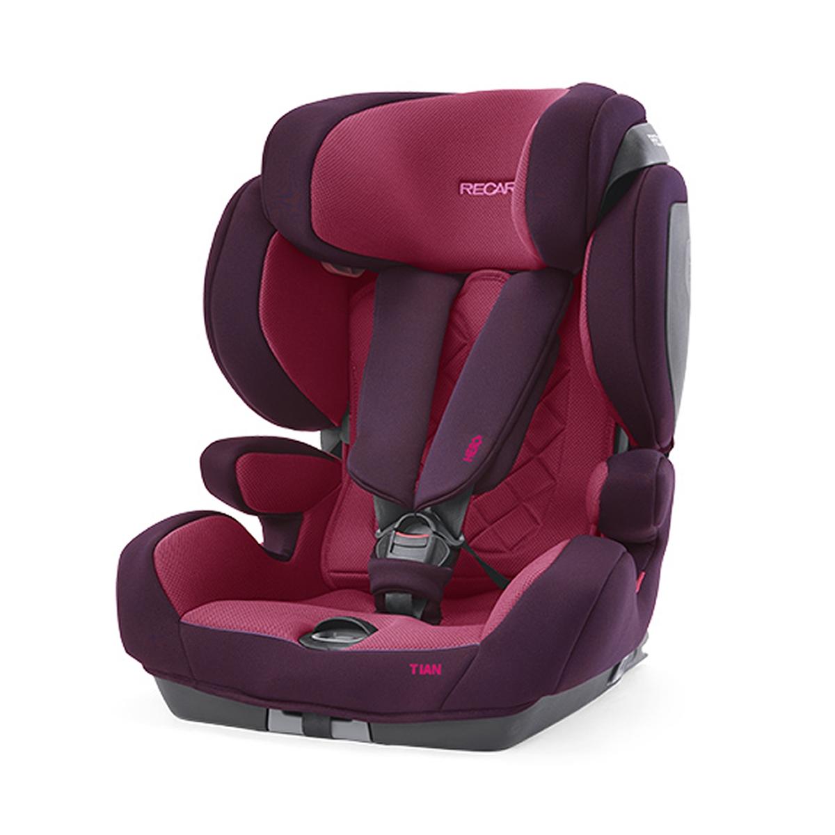 Recaro Tian Core Group 1 Car Seat-Power Berry