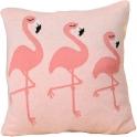 Bizzi Growin Knitted Cushion-Flamingos (NEW)