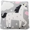 Bizzi Growin Knitted Cushion-Unicorn Rocks (NEW)