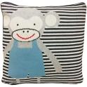 Bizzi Growin Knitted Cushion-Cheeky Monkey (NEW)