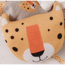 Bizzi Growin Cushion-Leopard (NEW)
