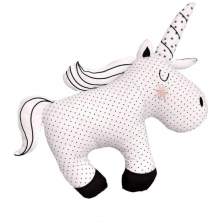 Bizzi Growin Monochrome Cushion-Unicorn (NEW)