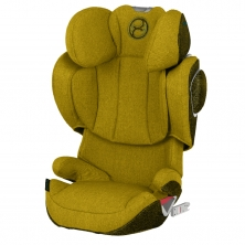 Cybex Solution Z i-Fix PLUS Group 2/3 Car Seat-Mustard Yellow (New 2020)