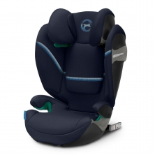 Cybex Solution S I-Fix Group 2/3 Car Seat-Navy Blue (2020)