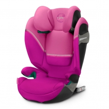 Cybex Solution S I-Fix Group 2/3 Car Seat-Magnolia Pink (2020)
