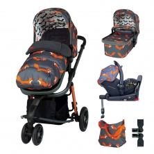 Cosatto Giggle 3 Everything Bundle-Charcoal Mister Fox