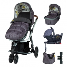Cosatto Giggle 3 Everything Bundle-Fika Forest
