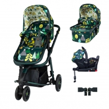 Cosatto Giggle 3 I-Size Travel System Bundle-Into The Wild