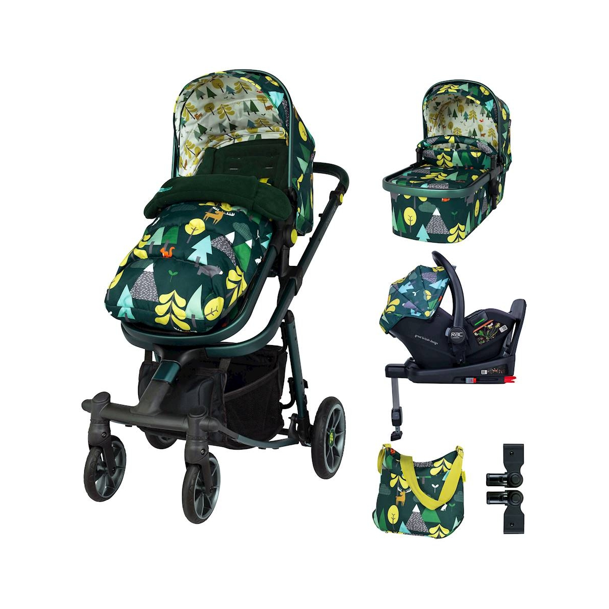 Cosatto Giggle Quad Everything Bundle-Into The Wild