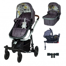 Cosatto Giggle Quad I-Size Travel System Bundle-Fika Forest