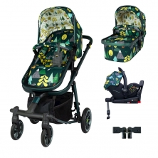 Cosatto Giggle Quad I-Size Travel System Bundle-Into The Wild