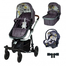 Cosatto Giggle Quad Premium Travel System Bundle-Fika Forest