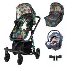 Cosatto Giggle Quad Premium Travel System Bundle-Harewood