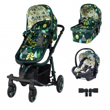 Cosatto Giggle Quad Premium Travel System Bundle-Into The Wild