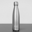 Egg Stroller Water Bottle-Brushed Steel