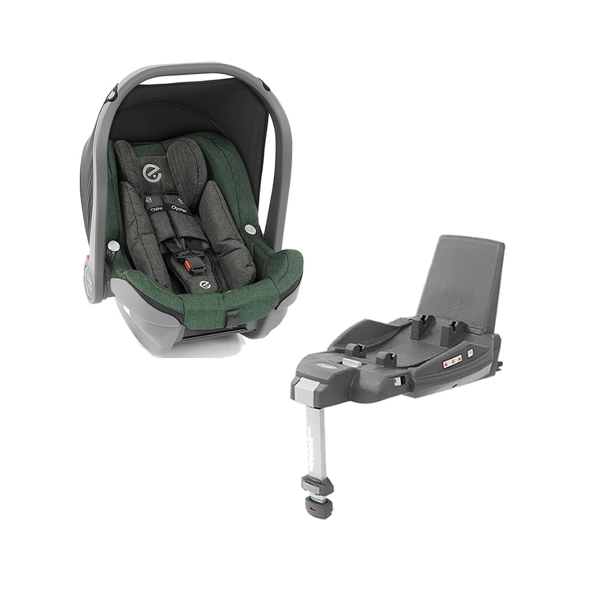 Babystyle Capsule Infant Car Seat & Duofix i-Size Base-Alpine Green
