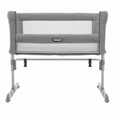Joie Roomie Crib-Grey Flannel