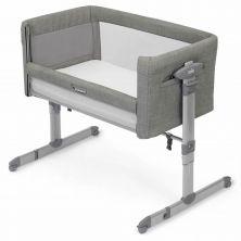 Joie Roomie Glide Crib-Foggy Grey