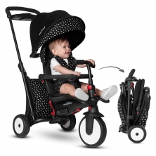 SmarTrike 7in1 Folding Baby Tricycle-Black & White (NEW)