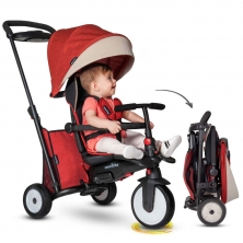 SmarTrike 7in1 Folding Baby Tricycle STR5-Red (NEW)