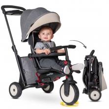 SmarTrike 7in1 Folding Baby Tricycle STR5-Grey (NEW)