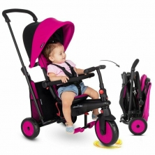 SmarTrike 6in1 Folding Baby Tricycle STR3-Pink (NEW)