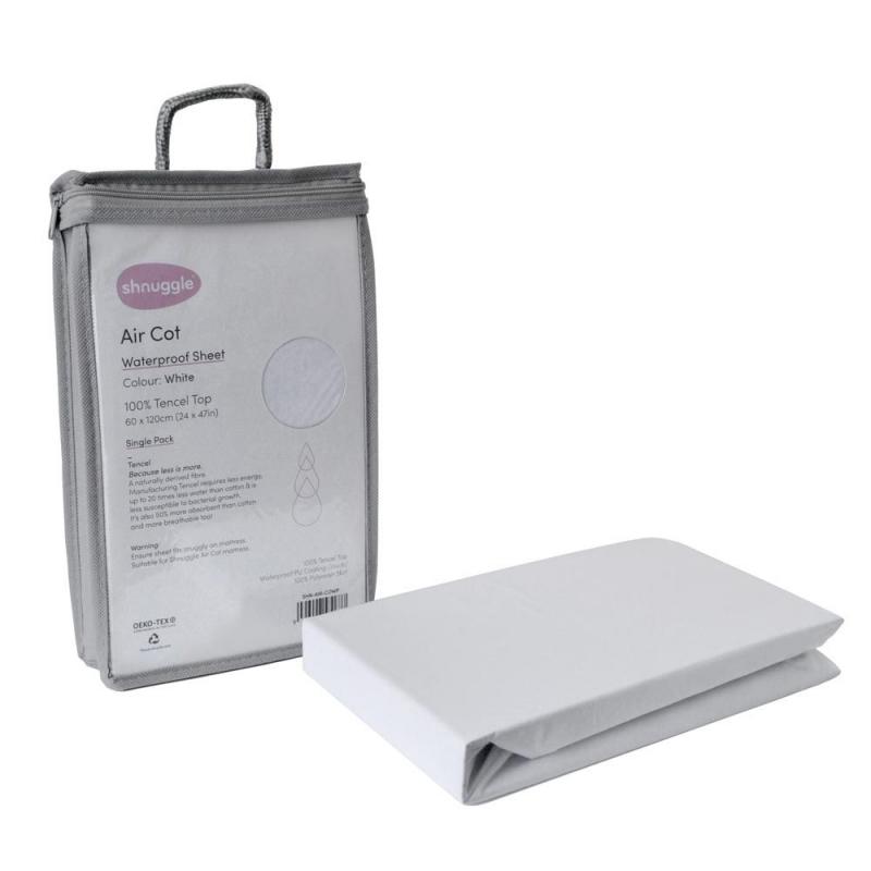 Shnuggle Air Cot Waterproof Sheet