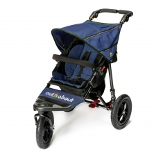 Out n About Nipper Single 360 V4 Stroller-Royal Navy