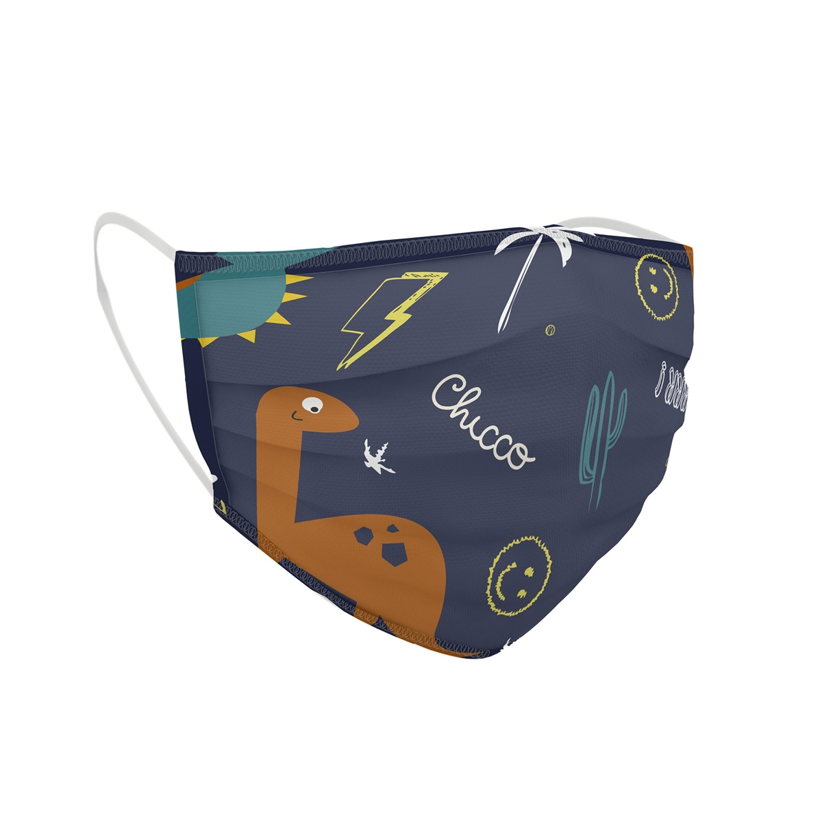 Chicco Children Re Usable Face Mask (3 6 Years) Boy