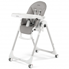 Peg Perego Prima Pappa Follow Me Highchair-Ice (NEW)