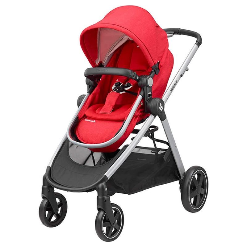 Maxi Cosi Zelia Stroller-Nomad Red Black