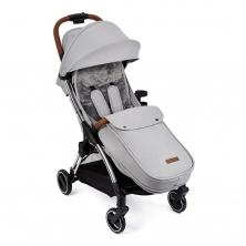 Ickle Bubba Gravity Max Silver Chassis Stroller - Silver Grey