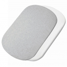 Maxi Cosi Iora Bedsheet 2 Pack- White/Grey
