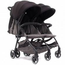 Baby Monsters Kuki Twin Stroller-Black (NEW)