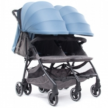 Baby Monsters Kuki Twin Stroller-Atlantic (NEW)