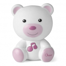 Chicco First Dreams Dreamlight Bear-Pink