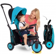 SmarTrike 6in1 Folding Baby Tricycle-Blue (NEW)