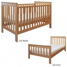 East Coast Blickling Oak Cot Bed (NEW)