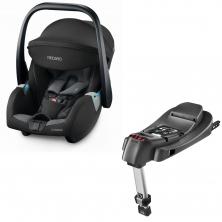 Recaro Guardia Group 0+ Infant Car Seat With Isofix Base-Carbon Black (New 2020)