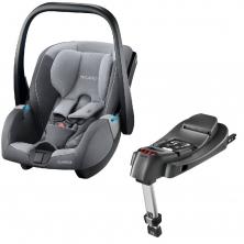 Recaro Guardia Group 0+ Infant Car Seat With Isofix Base-Aluminium Grey (New 2020)