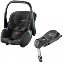 Recaro Guardia Group 0+ Infant Car Seat With Isofix Base-Performance Black (New 2020)